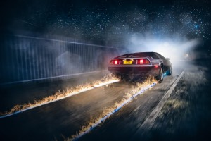 delorean-dmc-12-fire-car